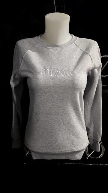 Sweat Mørue Gris clair