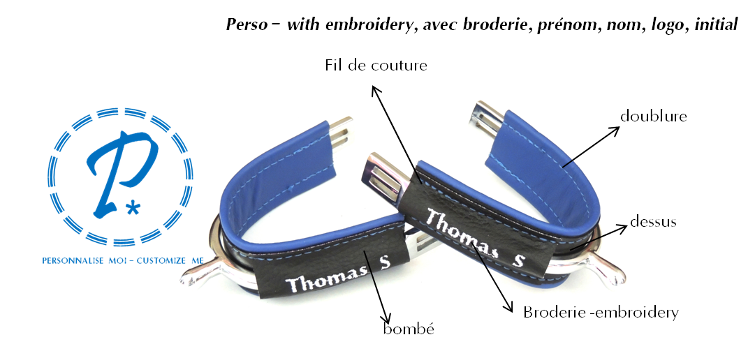 Duø Personnalisable avec broderie / Customize with embroidery