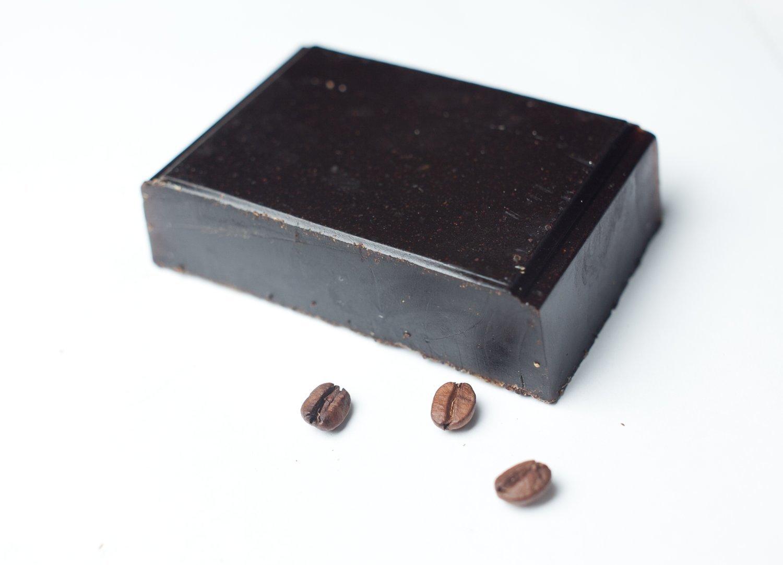 Мыло с чёрным кофе