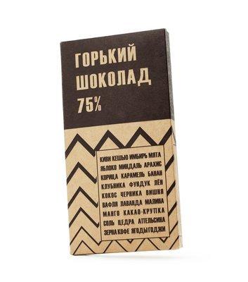 Миасский шоколад 75%