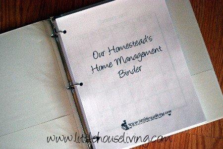 Homestead Management Binder Pages (Download)