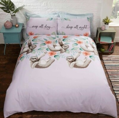 Sloth Bedding Single