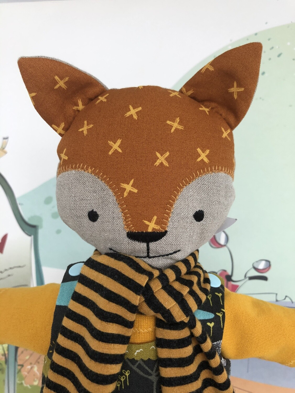 Mr. Fox Safari Doll Amber