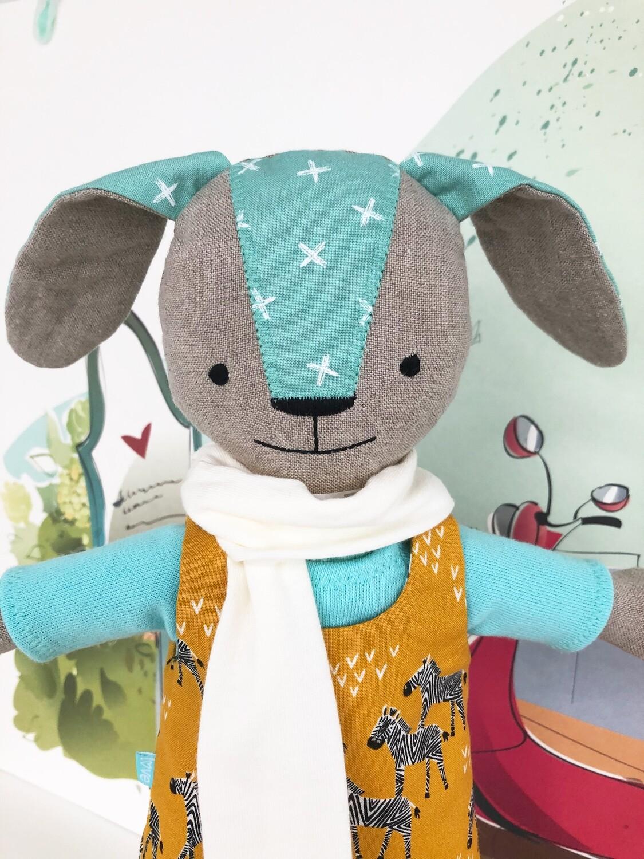 Mrs. Bunny Safari Doll Aqua