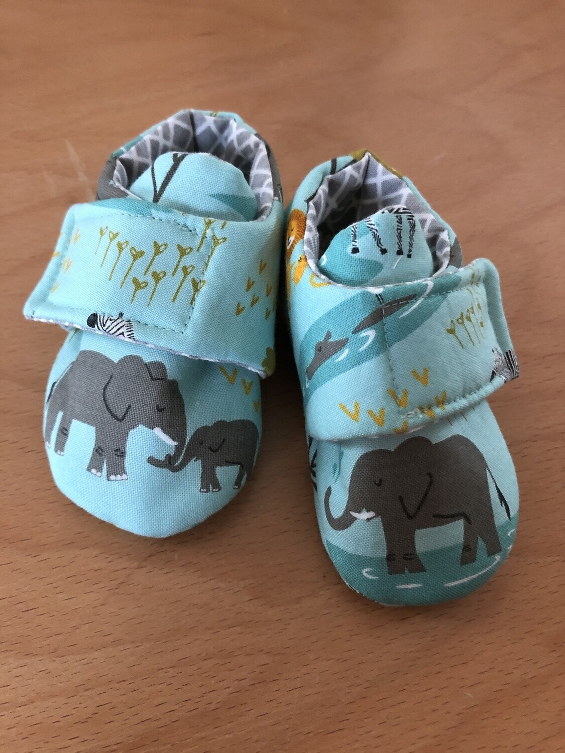 Aqua Safari Baby Shoes, 0-3 months