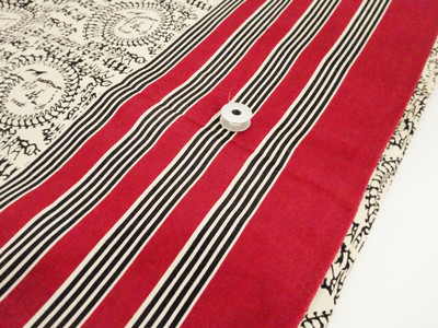 Warli Print Glace Cotton