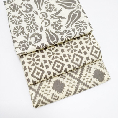 Gray Fat Quarter bundle of 3