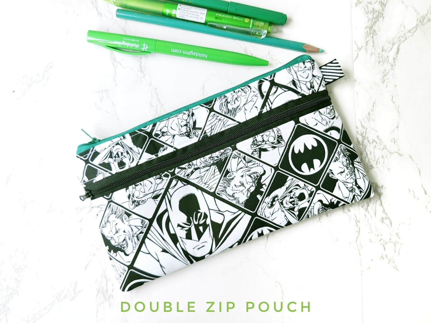 Batman zipper pouch