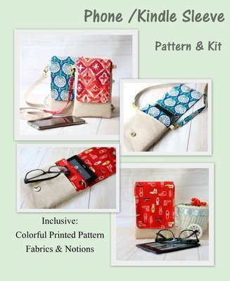 Pattern & Kit - Phone/Kindle sleeve