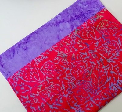 FAT QUARTER DUOS  Fuchsia Purple