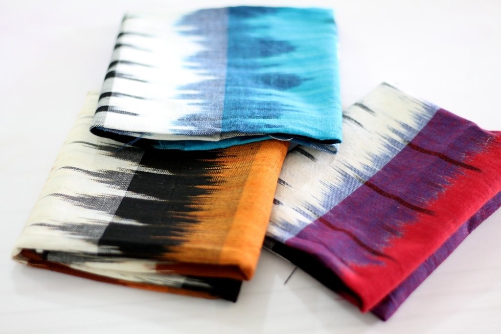 Handloom Ikat Fat Quarter Bundle of 3