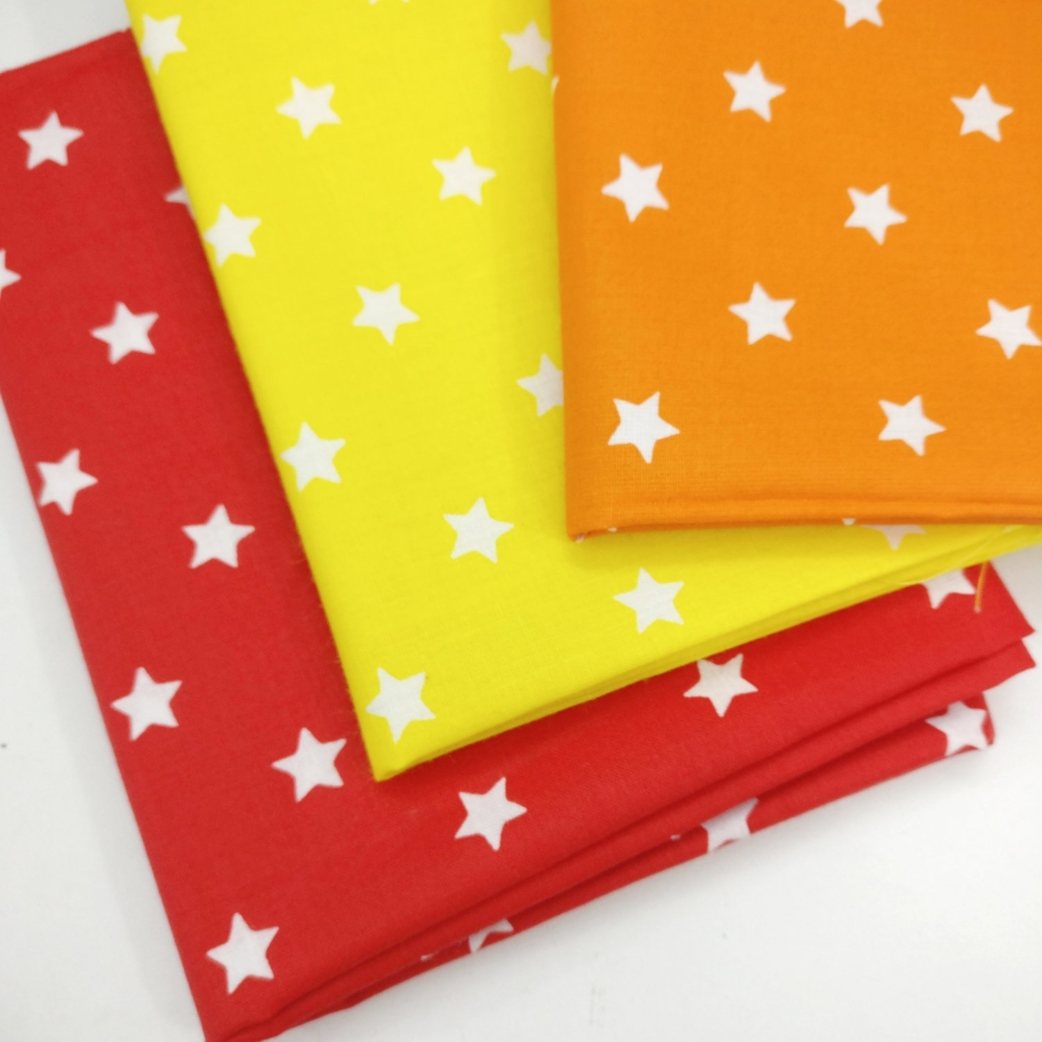 Stars Fat QUARTER Bundle of 3