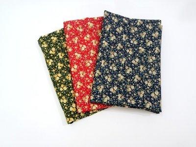 Floral Fat Quarter Bundle - Japan Design Cotton fabric - Precut Fabric