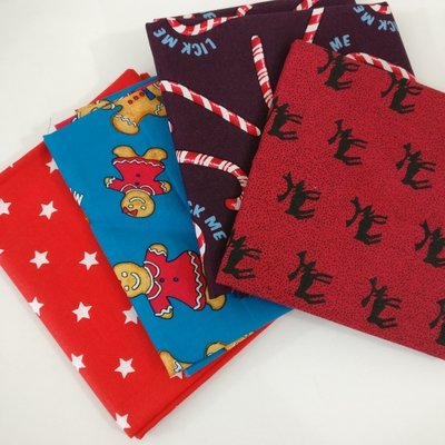 Precut bundle - fat quarter christmas