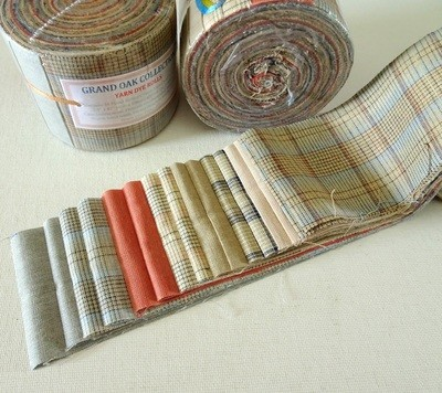 Grand Oak Yard Dye Roll - Jelly Roll Fabric Rolls (2.5