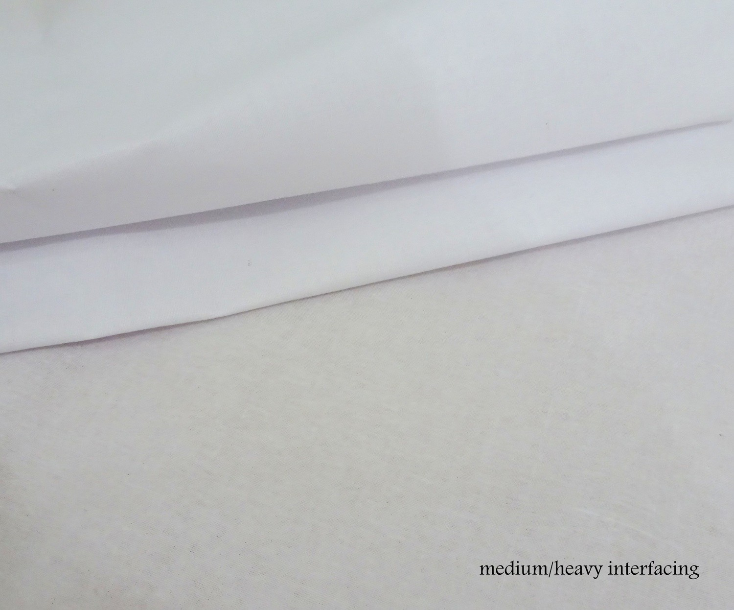 Heavy Woven  Interfacing