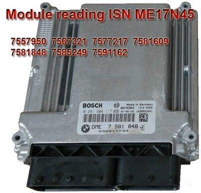 Module for reading ISN ME17N45 ( N45 Tricore) via OBD