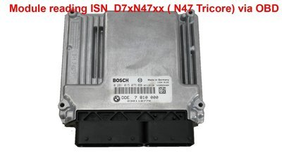 Module for reading ISN and Eeprom D7xN47xx ( N47 Tricore) via OBD