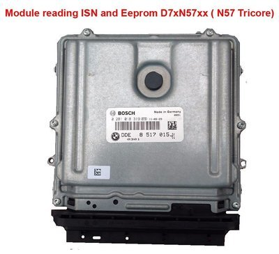 Module for reading ISN and Eeprom D7xN57xx ( N57 Tricore) via OBD