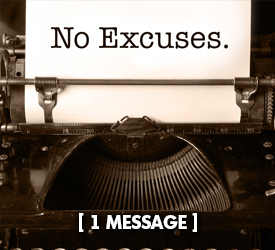No Excuses 29400