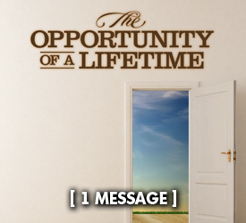 The Opportunity of a Lifetime 18200