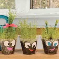 June 27th Children's Workshop Grass Head
