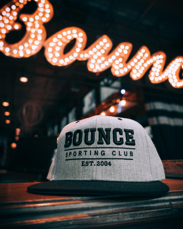 Bounce Snap Back - Gray & Black