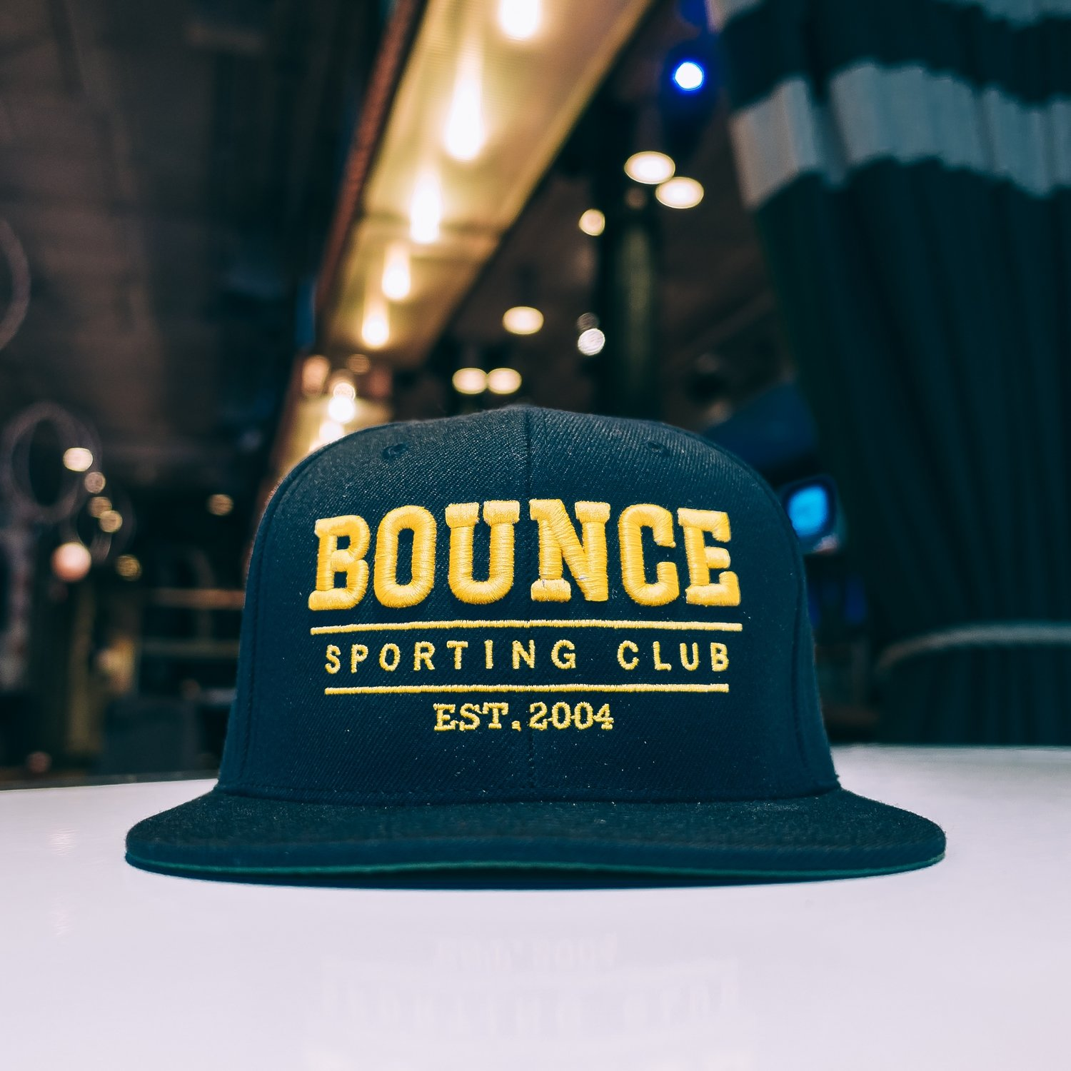 Bounce Snap Back - Navy & Gold