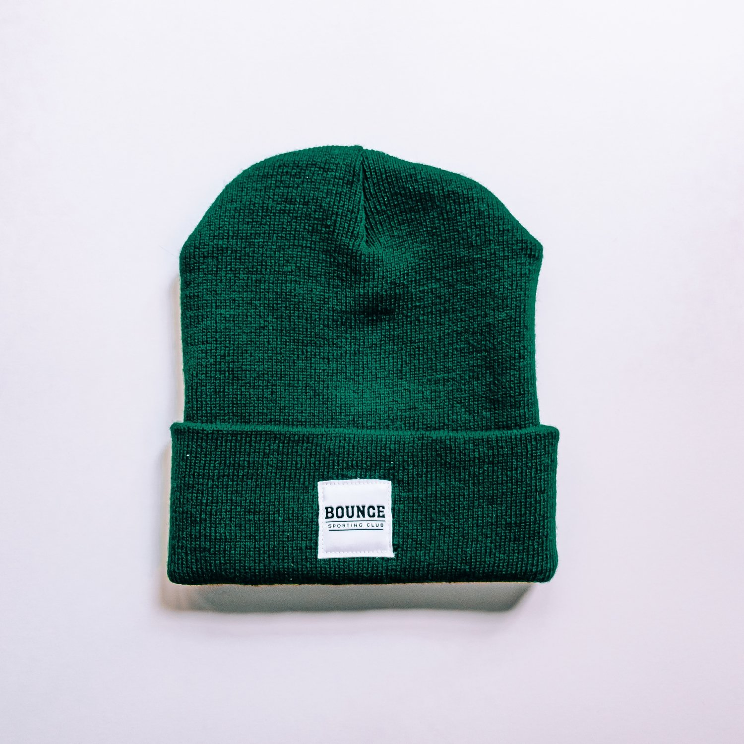Bounce Patchwork Beanie - Green