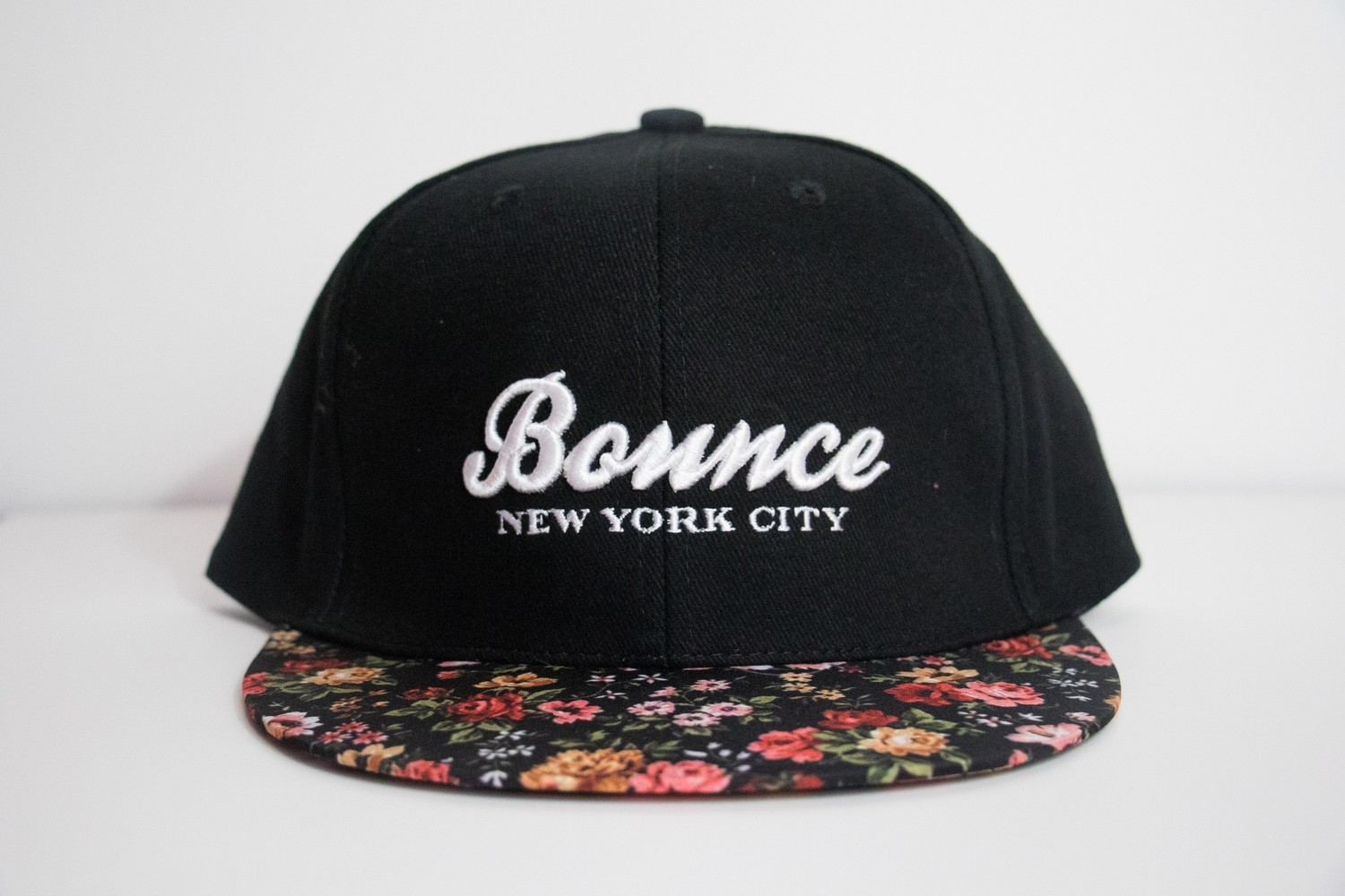 Floral Bounce Snapback