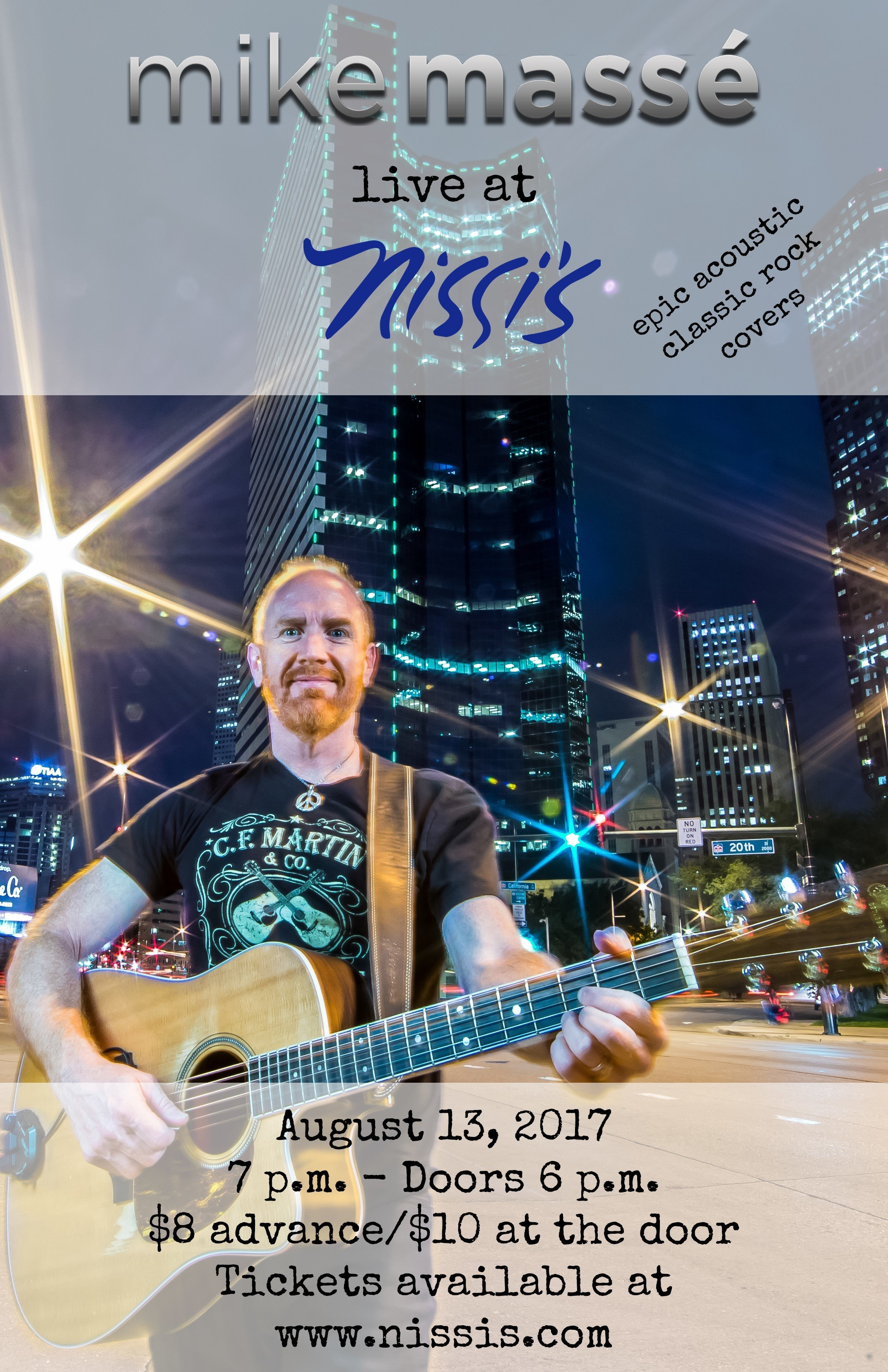 An evening of epic acoustic covers with Mike Masse – Aug 13 2017 – 7:00pm 00168