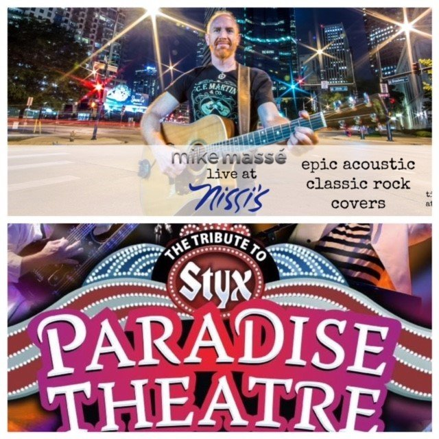 """Paradise Theater """"A Tribute to Styx"""" & Special Guest Mike Masse – Jan 20 2018 – 7:30pm 00239"""