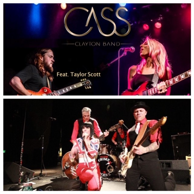 Cass Clayton Band & Kerry Pastine and the Crime Scene – Feb 15 2019 – 7:30pm 01356