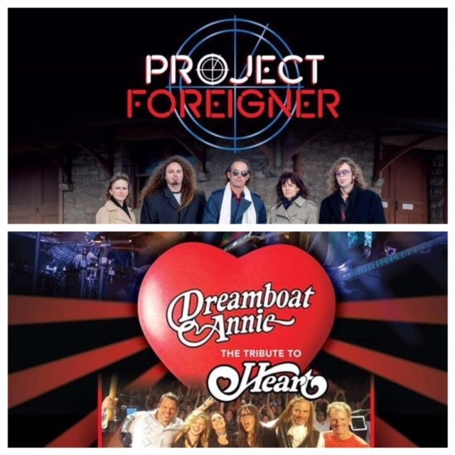 "Dreamboat Annie ""The Heart Tribute"" & Project Foreigner – April 6 2019 – 7:30pm 01364"