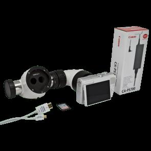 Spliter dublu + Camera DSLR Canon M100