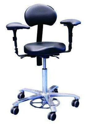 Scaun ergonomic pentru microscop