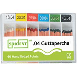 Gutta Percha ISO 04 (Spident)
