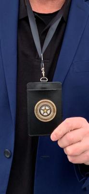 Official Roadside Assistance Badge w/card holder, lanyard
