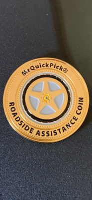 Official MrQuickPick® Challenge Coin