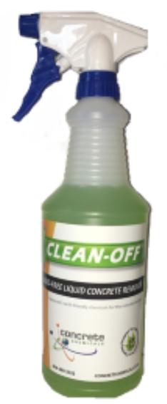 CLEAN-OFF Liquid Concrete Remover 32oz Spray Bottle