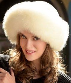 Alpaca Fur Hat - Tan
