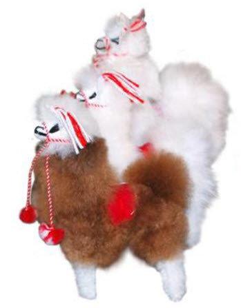 Alpaca Fur Toys - alpaca, extra small