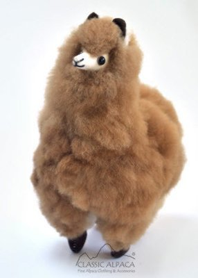 Alpaca Fur Toys - alpaca, medium