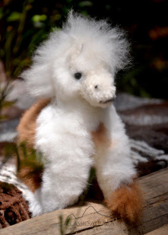 Alpaca Fur Toys - horse, medium