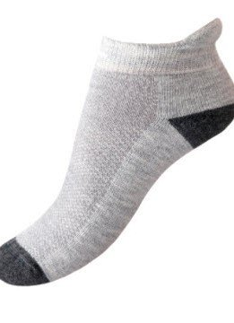 Alpaca Golf Sock - Small, gray/pink