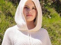 Alpaca Short-Sleeved Alpaca Hoodie