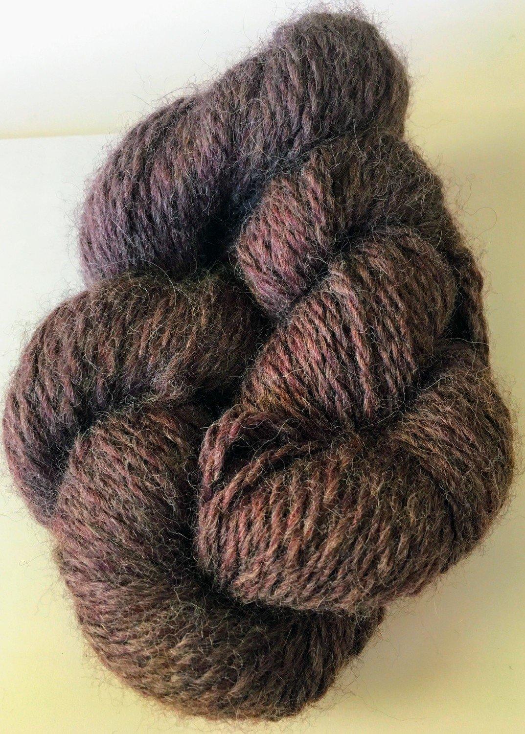 Breezy Hill Cottage-Milled, Hand-Dyed Yarn - Dusty Plum