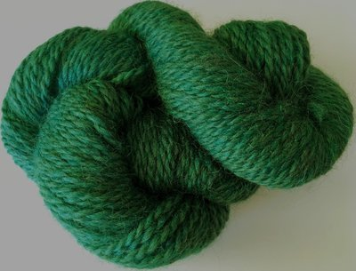 Breezy Hill Cottage-Milled, Hand-Dyed Yarn - Emerald Sea