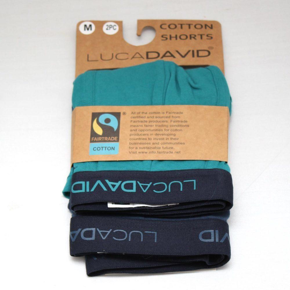 LUCA DAVID FairTrade Cotton Shorts 2Pack