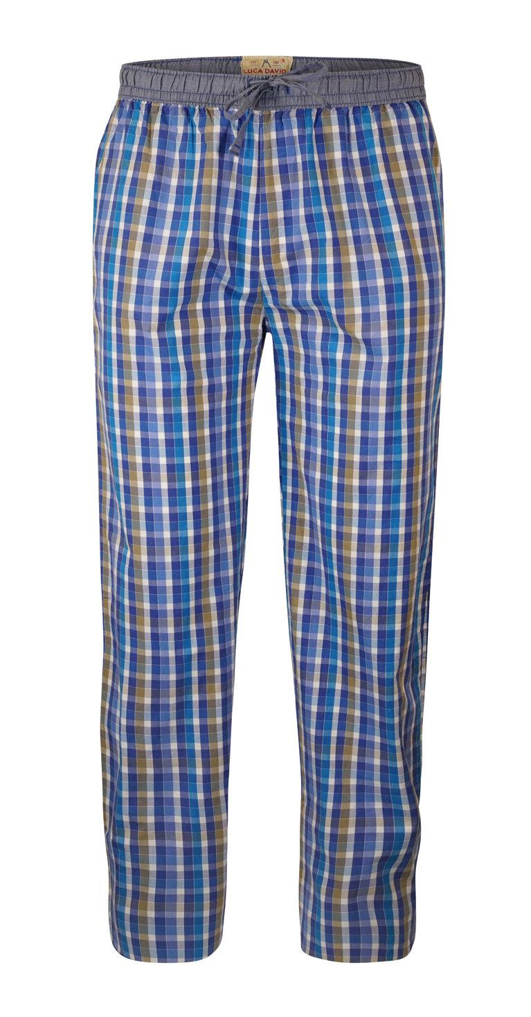 LUCA DAVID Olden Glory Mens Pyjama-Hose